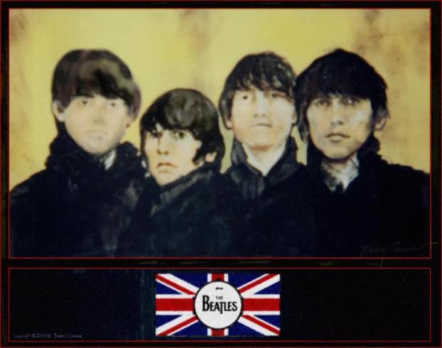 THE BEATLES, Acrylic on Canvas 2001