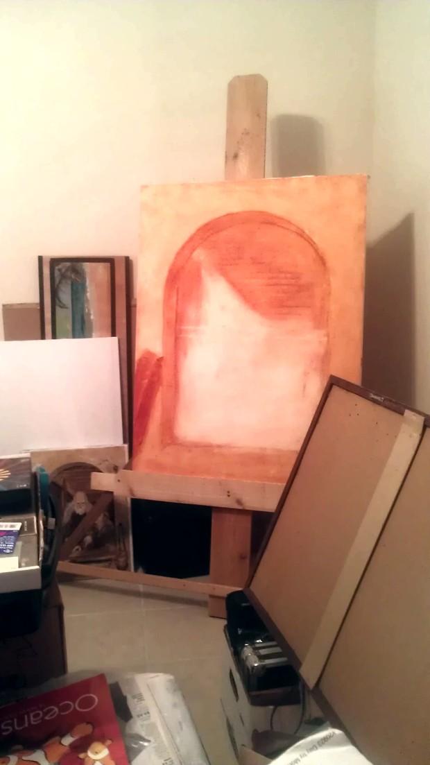 ART STUDIO EASEL