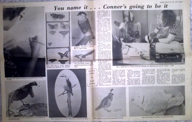 ARTIST BARRY CONNER in 1975!!!