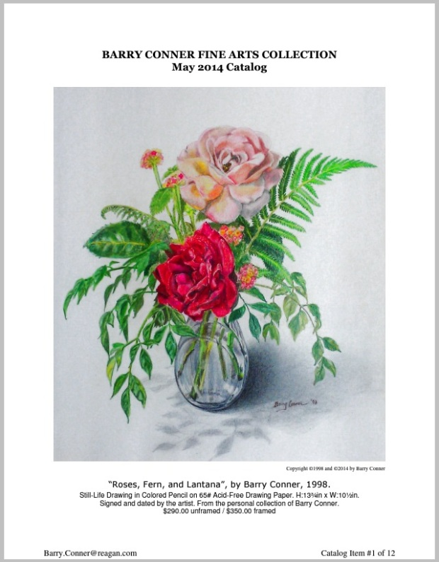 BARRY CONNER FINE ARTS COLLECTION May 2014 Catalog